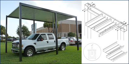 Architectural Systems Engineered Carport Kit