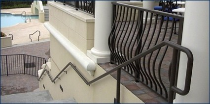 Railing Channel Amp Cover Plates Pipe Brackets Handrail