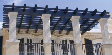 pergola aluminum, trellis & pergolas - architectural systems - our products - eastern, Design ideen